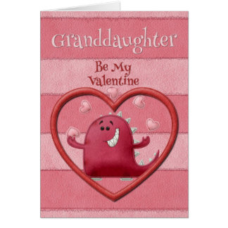 Happy Valentine's Day Granddaughter Card