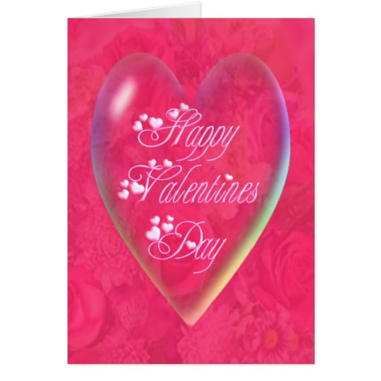 HAPPY VALENTINES DAY HEART by SHARON SHARPE Card