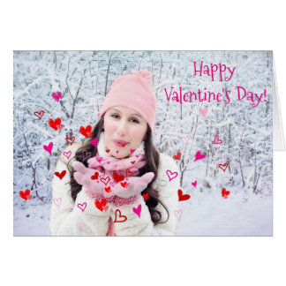 Happy Valentine's Day Heartfelt Greeting Card