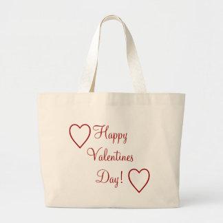 Happy Valentines Day! Jumbo Tote Bag