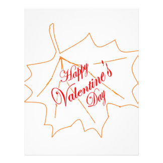 Happy Valentine's Day Letterhead