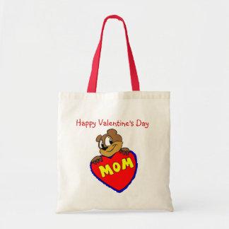 Happy Valentine's Day Mom Tote Bag