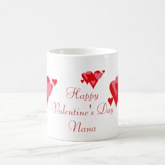Happy Valentine's Day Nana Coffee Mug