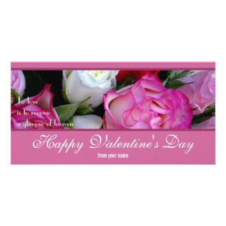 Happy Valentines Day Photo Card