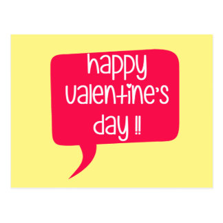 Happy Valentine's Day! Postcard