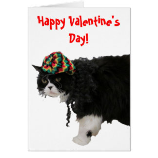 Happy Valentine's Day - Rasta Style Card