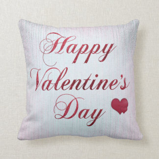 Happy Valentine's Day Reversible Decorative Pillow