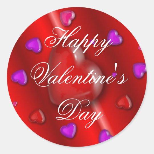 Happy Valentine's Day Sticker | Zazzle.ca