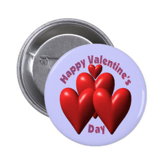 Happy Valentines Day T-shirts and Gifts 2 Inch Round Button