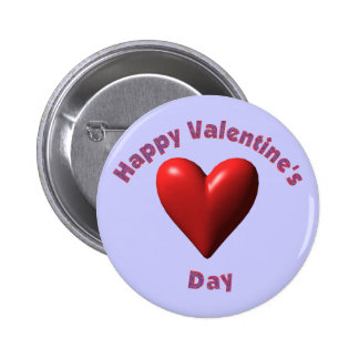 Happy Valentines Day T-shirts and Gifts Button