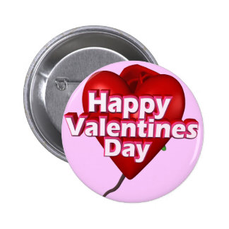 Happy Valentine's Day T-shirts and Gifts Pin