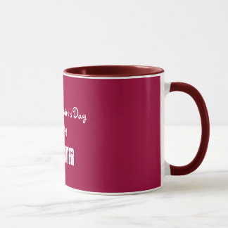 Happy Valentine's DayTo My, Firefighter-Mug Mug