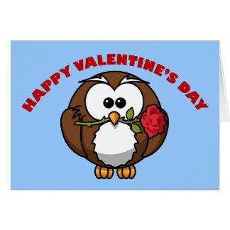 Happy Valentine's Owl Tango Card