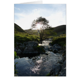 Happy Valley Northumberland, England Card
