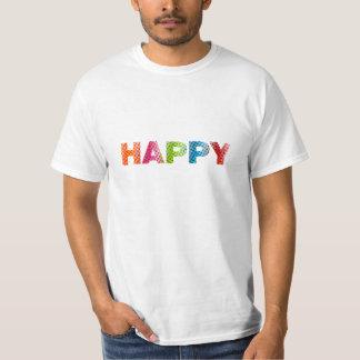 """""""Happy"""" value t-shirt"""