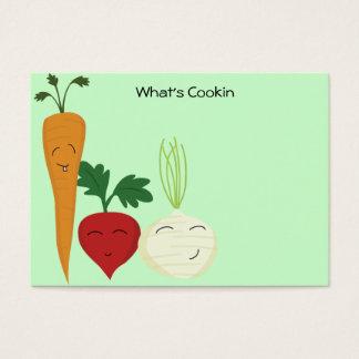 Happy Veggie Recipe Cards