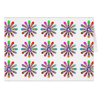 HAPPY Vibes Graphic Flower CHAKRA Art Cards