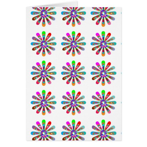 HAPPY Vibes :  Graphic Flower CHAKRA Art Cards