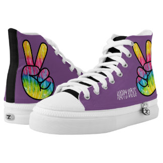 Happy Vibes High Tops