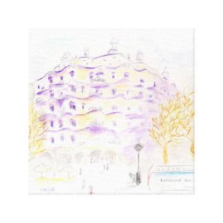 Happy view, from to happy City Canvas Print