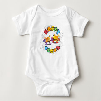 Happy Virus - Babie's Clothes Baby Bodysuit