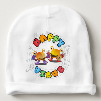 Happy Virus Product Range Baby Beanie
