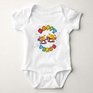 Happy Virus Product Range Baby Bodysuit