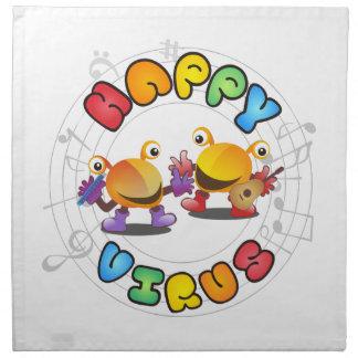 Happy Virus Product Range Napkin