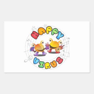 Happy Virus Product Range Sticker
