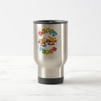 Happy Virus Product Range Travel Mug