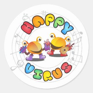 Happy Virus - Sticker