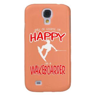 HAPPY WAKEBOARDER (white)