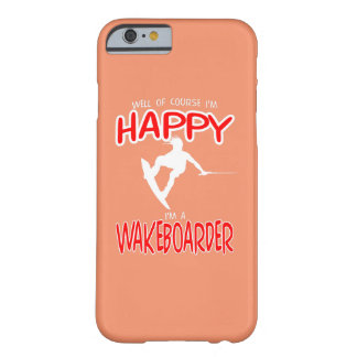 HAPPY WAKEBOARDER (white) Barely There iPhone 6 Case