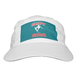 HAPPY WAKEBOARDER (white) Hat
