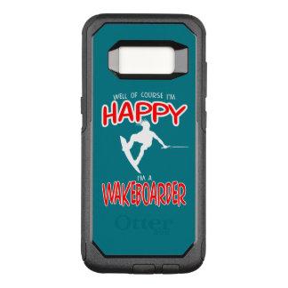 HAPPY WAKEBOARDER (white) OtterBox Commuter Samsung Galaxy S8 Case