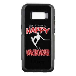 HAPPY WAKEBOARDER (white) OtterBox Commuter Samsung Galaxy S8+ Case