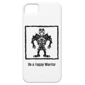 Happy Warrior iPhone 5 Cover