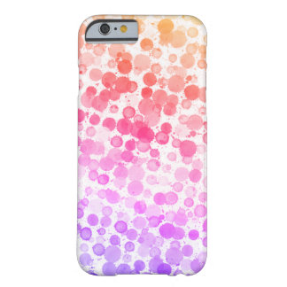 Happy Watercolor Dots Custom iPhone 6/6s Case