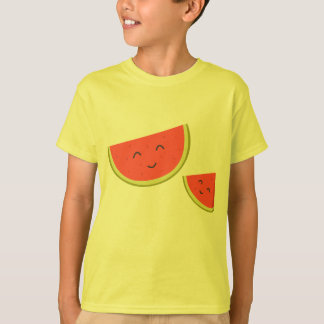 Happy Watermelon Kids' Hanes TAGLESS® T-Shirt