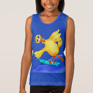 Happy Waterskiing by The Happy Juul Company Tank Top