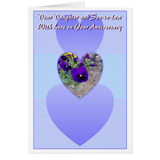 Happy Wedding Anniversary Daughter And Husband Cards