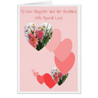 Happy Wedding Anniversary Daughter And Husband Card