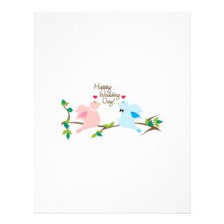 Happy Wedding Day! Personalized Letterhead