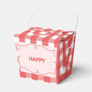 Happy Wedding Favor Boxes