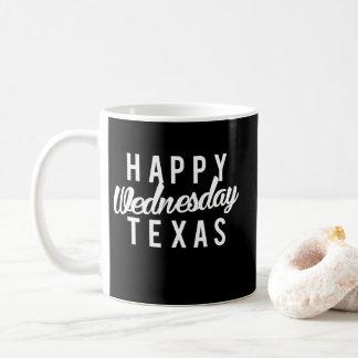 Happy Wednesday Texas Print Coffee Mug