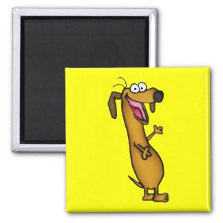 Happy Weenie Magnet