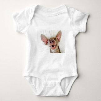 Happy Weimaraner Baby Bodysuit