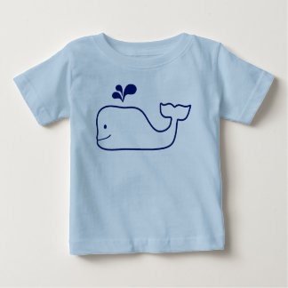 HAPPY WHALE BABY T-SHIRT