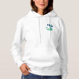 Happy Whale Hoodie Sweatshirt