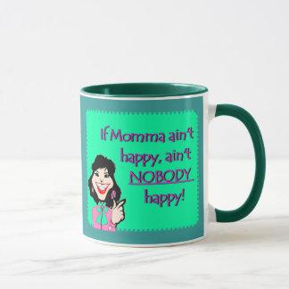 Happy White Momma Mug